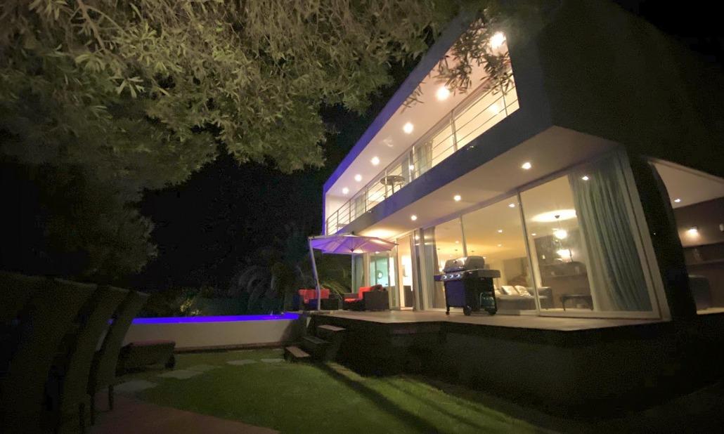 Extérieure villa