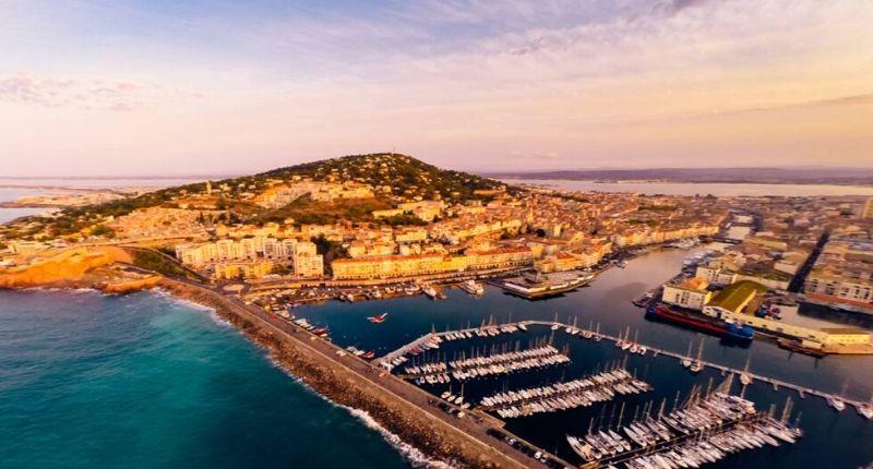 vue port Sète